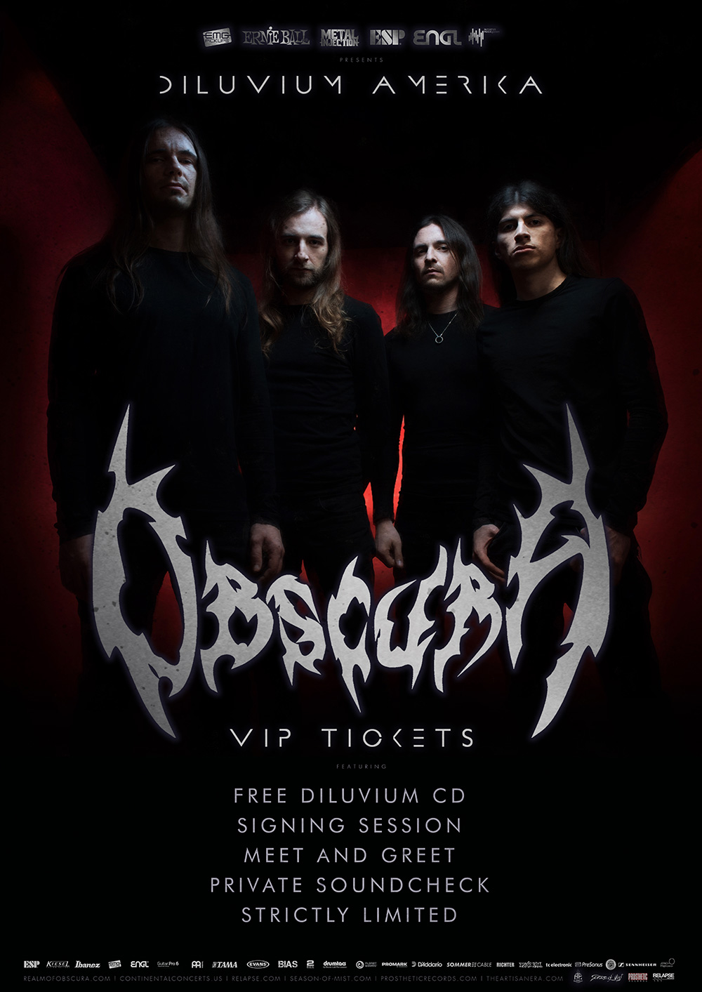 Church Of The 8th Day Obscura 1720 107 Vip Package